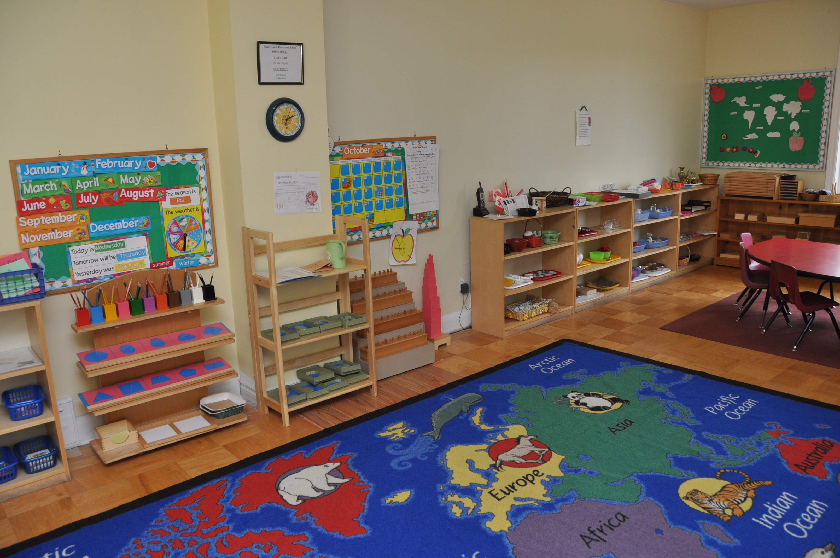Montessori Toddler Furniture